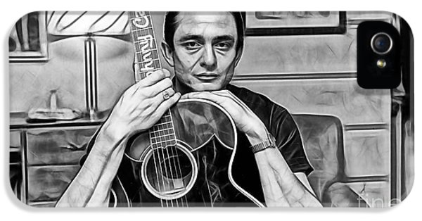 Johnny Cash Collection IPhone 5s Case