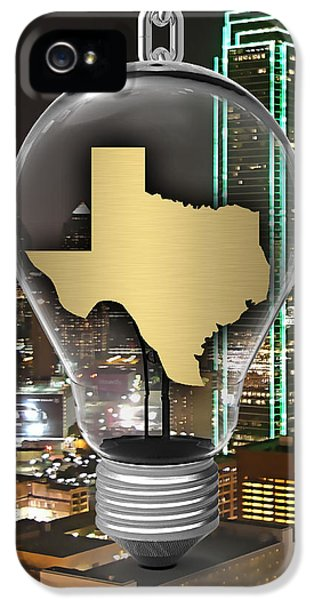 Texas State Map Collection IPhone 5s Case