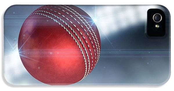 Ball Flying Through The Air IPhone 5s Case by Allan Swart