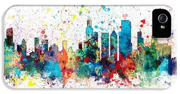 Grant Park iPhone 5s Case - Chicago Illinois Skyline by Michael Tompsett
