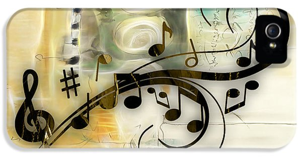 Music Flows Collection IPhone 5s Case by Marvin Blaine