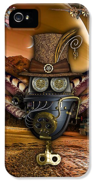Steampunk Art IPhone 5s Case by Marvin Blaine