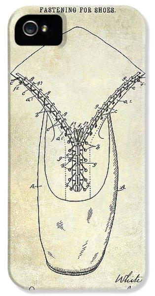 1896 Shoe Patent  IPhone 5s Case