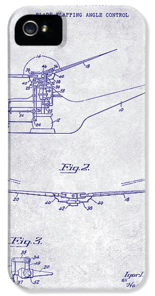 1947 Helicopter Patent Blueprint IPhone 5s Case