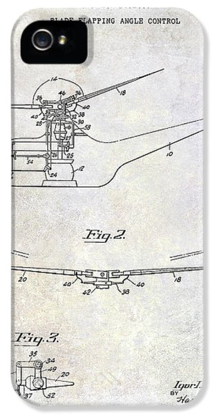 1947 Helicopter Patent IPhone 5s Case