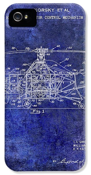 1950 Helicopter Patent IPhone 5s Case by Jon Neidert