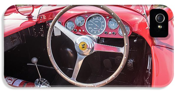 IPhone 5s Case featuring the photograph 1956 Ferrari 290mm - 4 by Randy Scherkenbach
