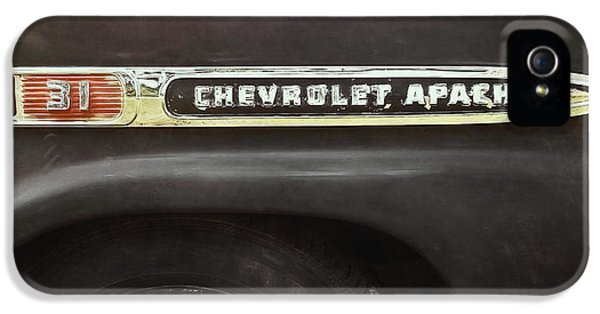Truck iPhone 5s Case - 1959 Chevy Apache by Scott Norris