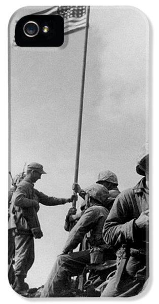 1st Flag Raising On Iwo Jima  IPhone 5s Case