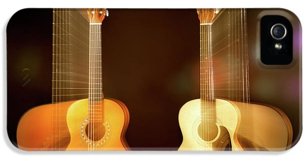 Acoustic Overtone IPhone 5s Case by Leland D Howard