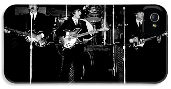 Drum iPhone 5s Case - Beatles In Concert 1964 by Larry Mulvehill