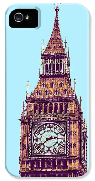 Big Ben Tower, London  IPhone 5s Case by Asar Studios