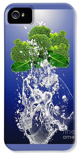 Broccoli Splash IPhone 5s Case by Marvin Blaine