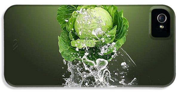 Cabbage Splash IPhone 5s Case by Marvin Blaine