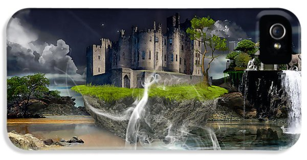 Castle In The Sky Art IPhone 5s Case by Marvin Blaine