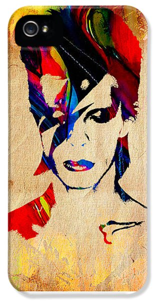 David Bowie IPhone 5s Case by Marvin Blaine
