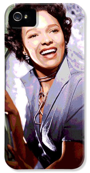 Dorothy Dandridge IPhone 5s Case by Charles Shoup