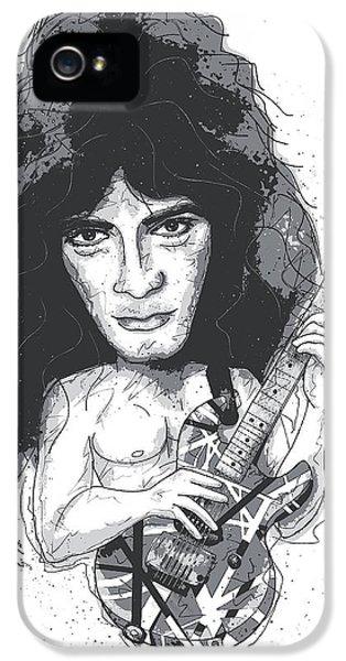 Eddie Van Halen IPhone 5s Case by Gary Bodnar