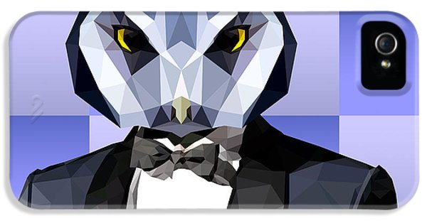 Geometric Owl IPhone 5s Case