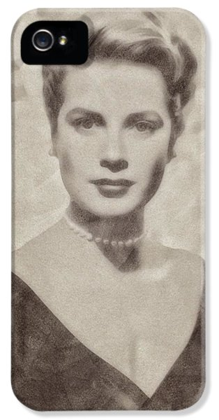 Grace Kelly, Actress And Princess IPhone 5s Case by John Springfield