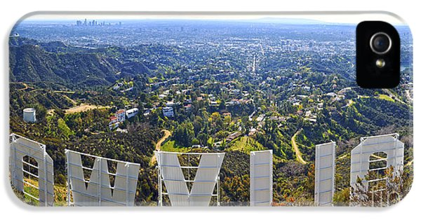 Iconic Hollywood  IPhone 5s Case by Art K