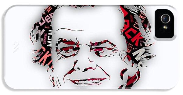 Jack Nicholson Movie Titles IPhone 5s Case