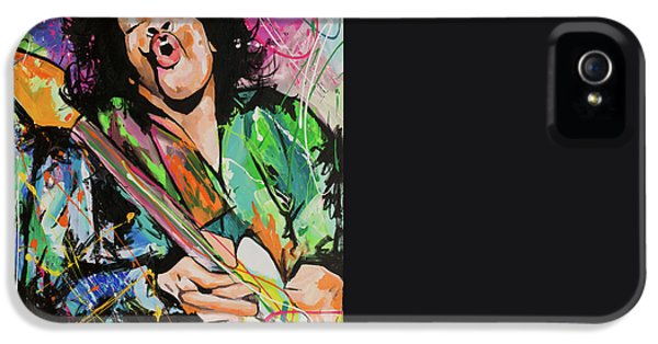 Jimi Hendrix IPhone 5s Case by Richard Day