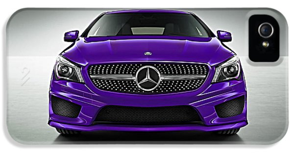 Mercedes Cla Class Coupe Collection IPhone 5s Case