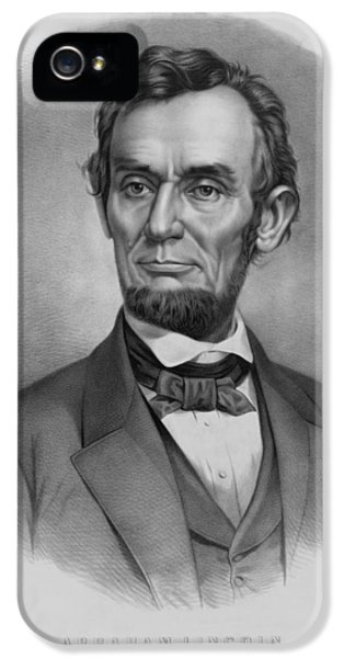 Abraham Lincoln iPhone 5s Case - President Lincoln by War Is Hell Store