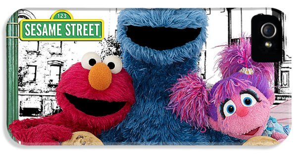 Sesame Street IPhone 5s Case