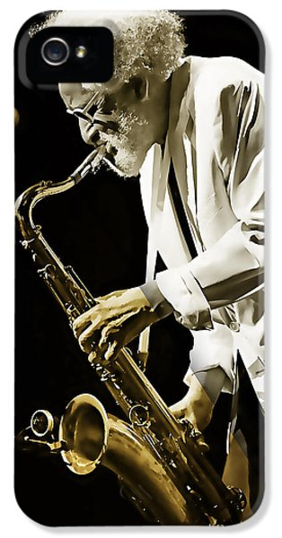 Sonny iPhone 5s Case - Sonny Rollins Collection by Marvin Blaine