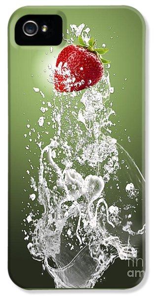 Strawberry Splash IPhone 5s Case