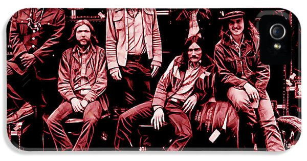 The Allman Brothers Collection IPhone 5s Case by Marvin Blaine