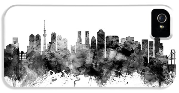 Tokyo Japan Skyline IPhone 5s Case by Michael Tompsett