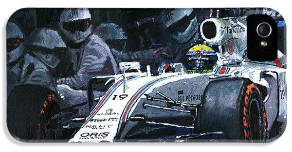 2015 Williams Fw37 F1 Pit Stop Spain Gp Massa  IPhone 5s Case