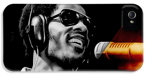 Stevie Wonder Collection IPhone 5s Case by Marvin Blaine