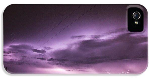 Nebraskasc iPhone 5s Case - 6th Storm Chase 2015 by NebraskaSC