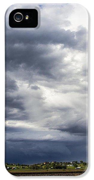 Nebraskasc iPhone 5s Case - Afternoon Nebraska Thunderstorm by NebraskaSC