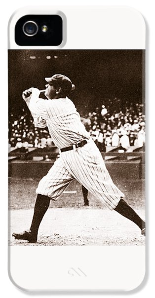 Babe Ruth IPhone 5s Case