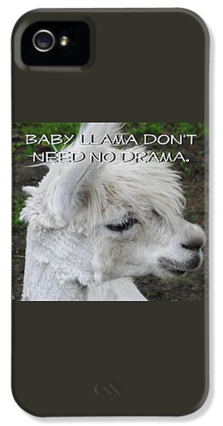 Baby Llama IPhone 5s Case