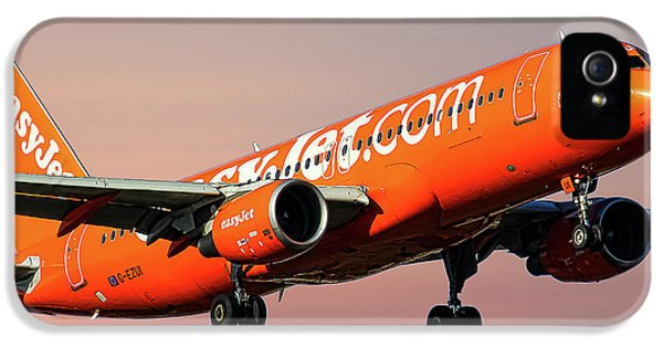 Jet iPhone 5s Case - Easyjet 200th Airbus Livery Airbus A320-214 by Smart Aviation