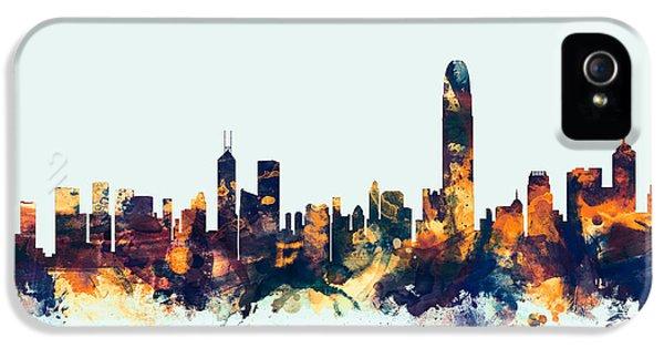 Hong Kong Skyline IPhone 5s Case