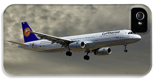 Jet iPhone 5s Case - Lufthansa Airbus A321-131 by Smart Aviation