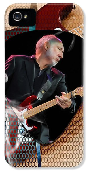 Pete Townshend Art IPhone 5s Case by Marvin Blaine