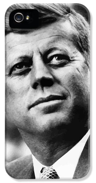 Pig iPhone 5s Case - President Kennedy by War Is Hell Store