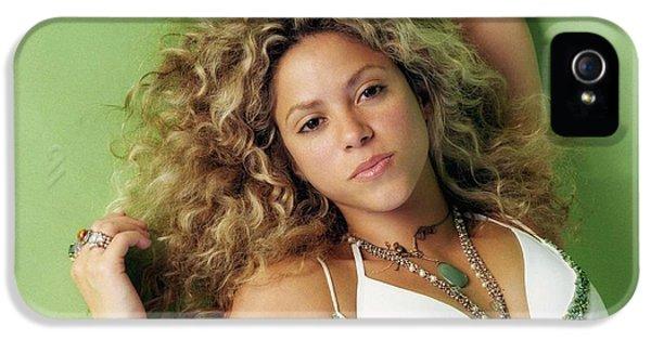 Shakira iPhone 5s Case - Shakira by Tatiania Laning