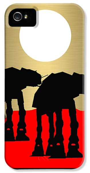 Star Wars At-at Collection IPhone 5s Case