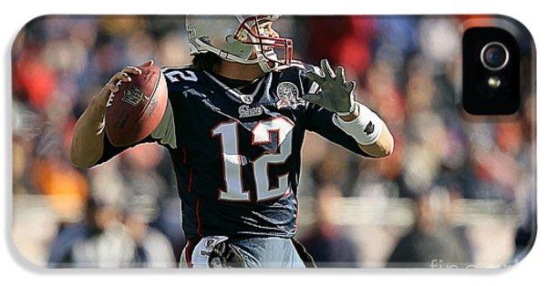 Tom Brady IPhone 5s Case by Marvin Blaine