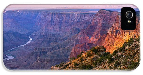 Grand Canyon iPhone 5s Case - Canyon Glow by Mikes Nature