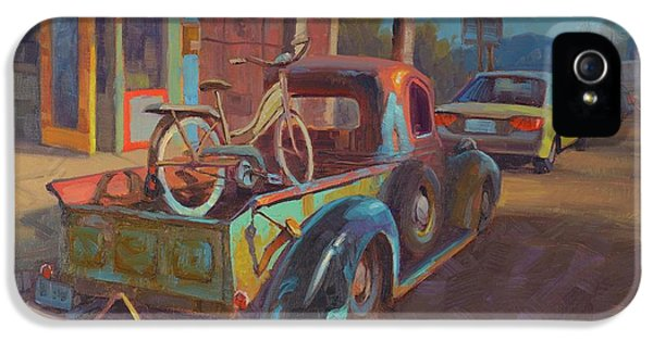 Truck iPhone 5s Case - 38' Ford In Jerome, Az by Cody DeLong